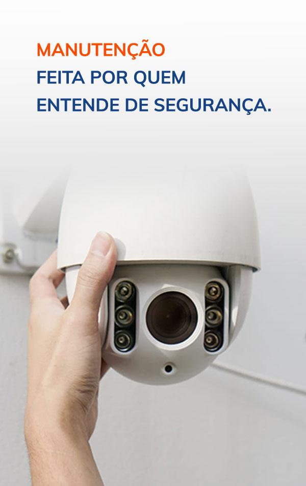 manutenção feita por quem entende de segurança.