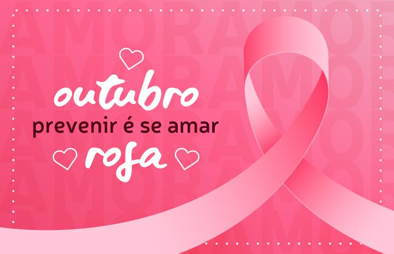 Outubro rosa e a prevenção contra o câncer de mama! - FOCCARE